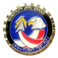 415 FLTF Custom Air Force Challenge Coin