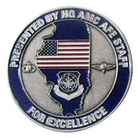 HQ AMC Aircrew Flight Equipment Coin