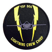 61 FS F-35 Lightning Crew Chief Patch