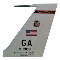330 CTS E-8C JSTARS Custom Airplane Tail Flash