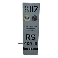 450 IS MQ-1 Predator Custom Airplane Tail Flash