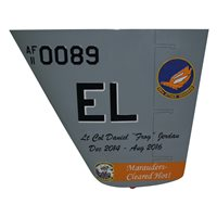 89 ATKS MQ-9 Reaper Custom Airplane Tail Flash