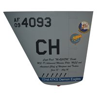 22 ATKS MQ-9 Reaper Custom Airplane Tail Flash