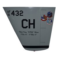 11 ATKS MQ-9 Reaper Custom Airplane Tail Flash