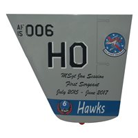 6 ATKS MQ-9 Reaper Custom Airplane Tail Flash
