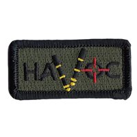 3 SOS Havoc Red Crosshairs Pencil Patch