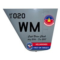 20 ATKS MQ-9 Reaper Custom Airplane Tail Flash