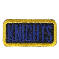 963 AACS Knights Pencil Patch