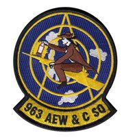 963 AACS Heritage Custom Patches