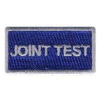 Joint Test Program Pencil Patch