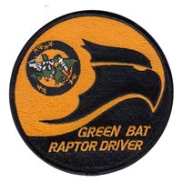 422 TES F-22 Raptor Driver Patch