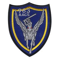 963 AACS Squadron Friday Patch