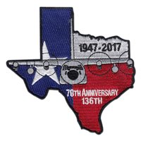 136 AW Anniversary Patch