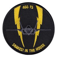 466 FS F-35 Lightning Driver Patch