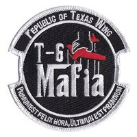T-6 Mafia Republic of Texas Patch