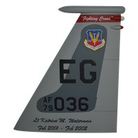 60 FS F-15C Eagle Custom Airplane Tail Flash