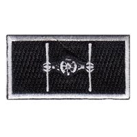 434 FTS Tie Fighter Pencil Patch