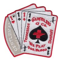 G Co-1-111 GSAB Gambler Patch
