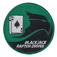 USAFA CS-21 Raptor Driver Patch