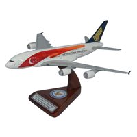 Singapore Airlines Airbus A380-800 Custom Airplane Model