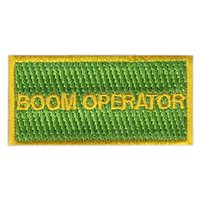 77 ARS Boom Operator Pencil Patch