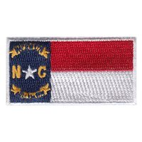 NC State Flag Pencil Patch