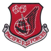90 FS Pacific F-22 Forces Patch