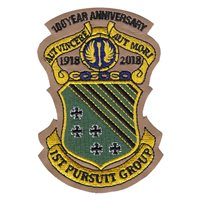 1 FW Centennial Patch with Leather