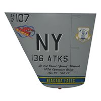 136 ATKS MQ-9 Reaper Airplane Tail Flash