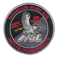 389 FS F-15E Day and Night 389 Hours Patch