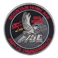 389 FS F-15E Day and Night 1000 Hours Patch