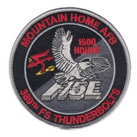 389 FS F-15E Day and Night 1500 Hours Patch