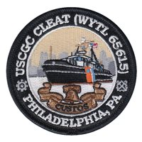 USCGC Cleat Custos Patch