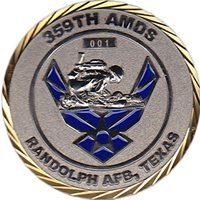 359 AMDS Custom Air Force Challenge Coin
