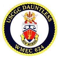 USCGC Dauntless Crest Patch