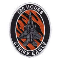 391 FS F-15E Strike Eagle 500 Hours Patch