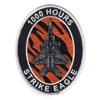 391 FS F-15E Strike Eagle 1000 Hours Patch