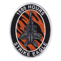 391 FS F-15E Strike Eagle 1500 Hours Patch