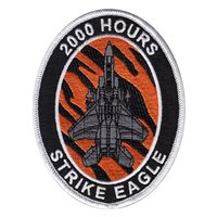 391 FS F-15E Strike Eagle 2000 Hours Patch