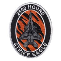 391 FS F-15E Strike Eagle 2500 Hours Patch
