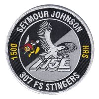 307 FS Stingers F-15E 1500 Hours Patch