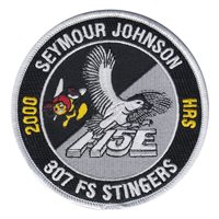 307 FS Stingers F-15E 2000 Hours Patch