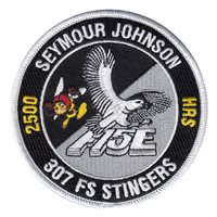307 FS Stingers F-15E 2500 Hours Patch