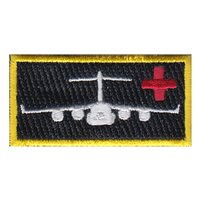911 AES C-17 Red Cross Pencil Patch