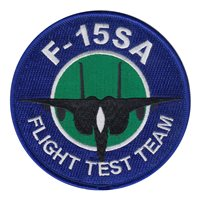 416 FLTS F-15SA Flight Test Team