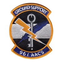 961 AACS Ground Support Patch