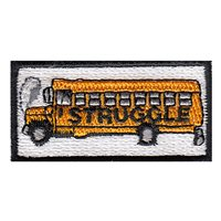 Struggle Bus Pencil Patch