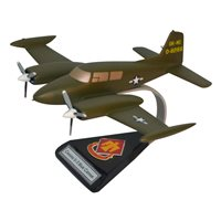 45 ID U-3 Blue Canoe Custom Airplane Model
