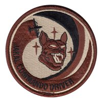17 SOS Jakal Commando Driver Desert Patch