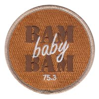 HSM-75 Bam Baby Bam Patch
